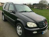 7 Seater Mercedes ML 270 2004