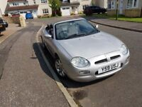 MGF 2001 Sports Car Low Mileage Lovely Car
