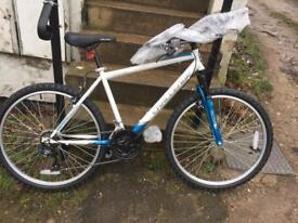 """Challenge 26"""" front suspension bike (brand new!)"""