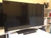 JVC Smart/DVD Freeview HD TV as new 7 Months old Little used