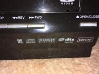 DVD/VCR player combi
