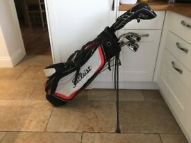 Golf clubs - full set of left hand clubs. Callaway Driver, Ping G20 Irons-Putter-Bag-Glove-balls etc