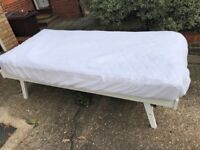 Fold down single bed