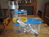 Rotastak Hamster Home + Curvy Tube Kit & Fun Wheel