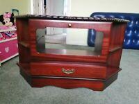 mahogany corner tv cabinet Free