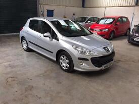2010 60reg Peugeot 308 1.6 HDI 1 owner 87,000 fsh excellant condition guaranteed cheapest in country