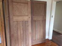 1930s solid wood doors