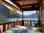 Chalets DIRECT Lugano meer Porlezza Italië Como Zwitserland