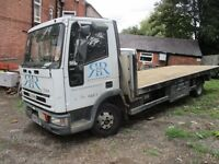 2003 52 IVECO TECTOR 7.5 TONNE SCAFFOLDING TRUCK FULL MOT PX SWAPS