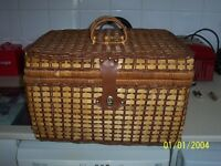 picnic basket all ready for for a day out