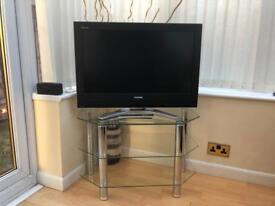 **URGENT** Tv and glass stand