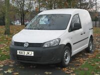 13Reg Volkswagen Caddy C20 BLUEMOTION TDI 75 (74,000 Miles) Full Service History.. Finance available