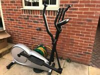 Electric cross trainer