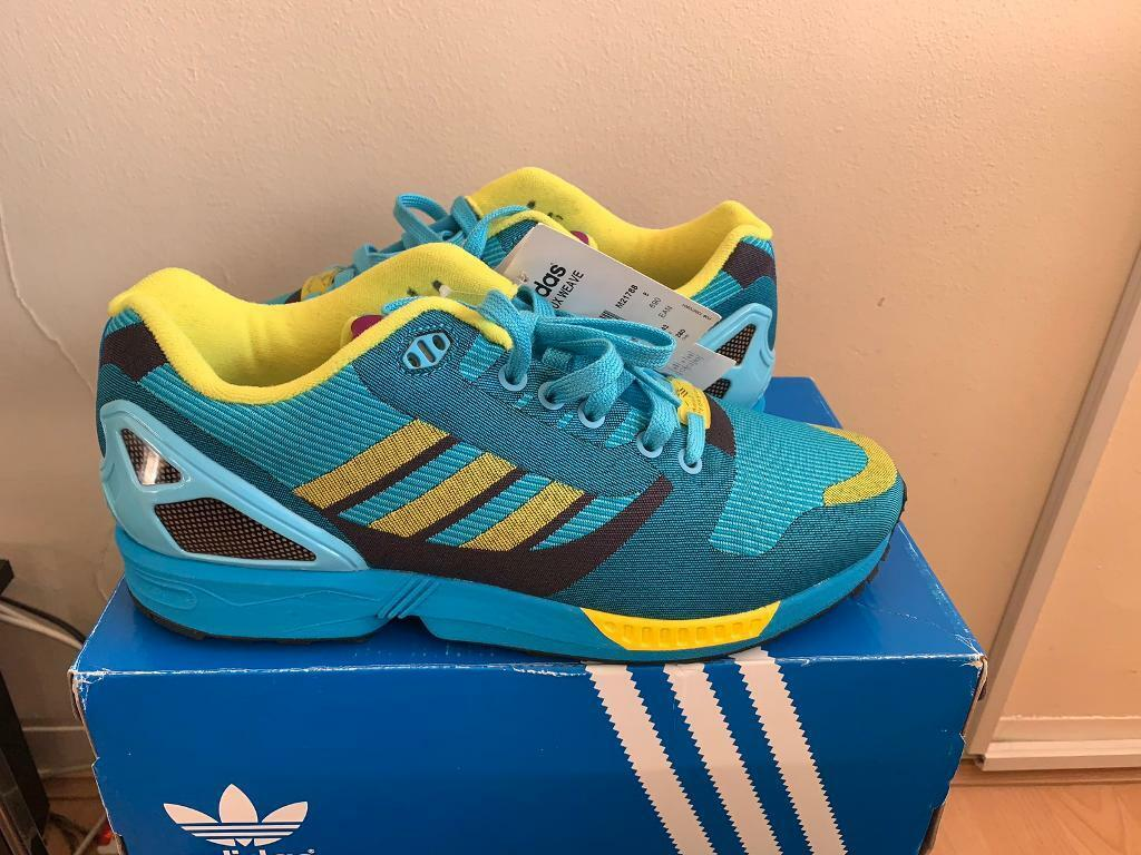 buy popular 9bf36 61001 Adidas zx flux weave