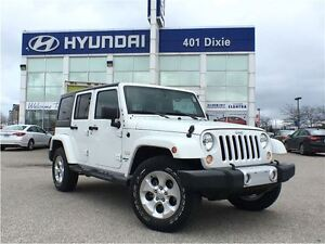 2015 Jeep WRANGLER UNLIMITED SAHARA|4X4|REMOTE START|HARD TOP|ON