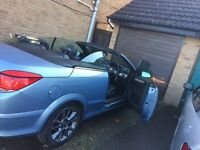 Vauxhall astra twin top convertible 1.8