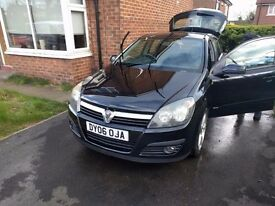 Vauxhall astra (low milage 57k)