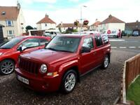 Jeep Patriot crd limited very low miles,12 months mot