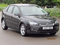 FOCUS 2007 1.6 ZETEC CLIMATE LONG MOT 1 FORMER KEEPER IMMACULATE CONDITION