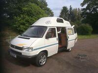 VW T4 High Top camper 2.4 diesel