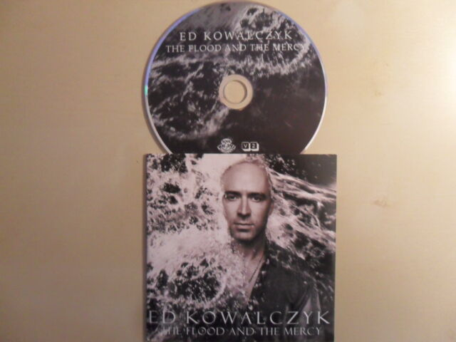 Ed Kowalczyk/The Flood and the Mercy 2013 Promo 11 Tr. & P. Buck of R.E.M./CD