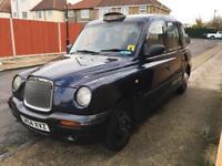 LTI TX2 London Taxi Black Cab - PCO Plated