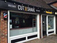Part time Barber needed in busy city centre shop
