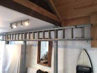 Double Extension Aluminium Ladder