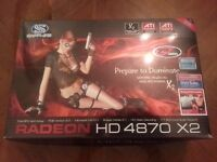 SAPPHIRE RADEON HD 4870 X2 2GB Graphics Card