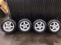 Vauxhall zafira wheels tyres M+S witer