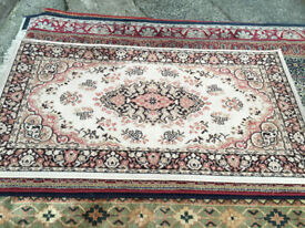 Lovely Traditional Kashmir Persian100% Pure Worsted Wool Rug