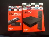 Amazon Fire tv stick 4K box free movies, tv shows, apps, live sports