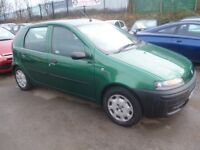Fiat PUNTO,1242 cc 5 door hatchback,clean tidy car,runs and drives well,great mpg,Px to clear