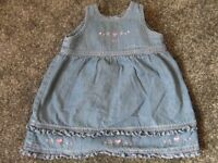 Age 3-6 month Next denim dress