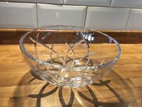 Galway crystal bowl 10inch.
