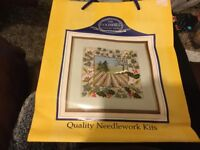 Brand new, unopened tapestry kit