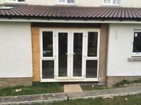 Patio door and window unit. Very good condition