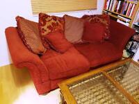 SOFA BED + TEA TABLE