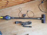 used dyson v6 animal charger tools Handheld Wall Mount Bracket Docking Station battery hol
