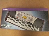 PORTABLE ELECTRIC ORGAN, STAND , MANUALS & FOOTPEDAL