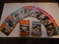 55 Elvis Monthly Magazines