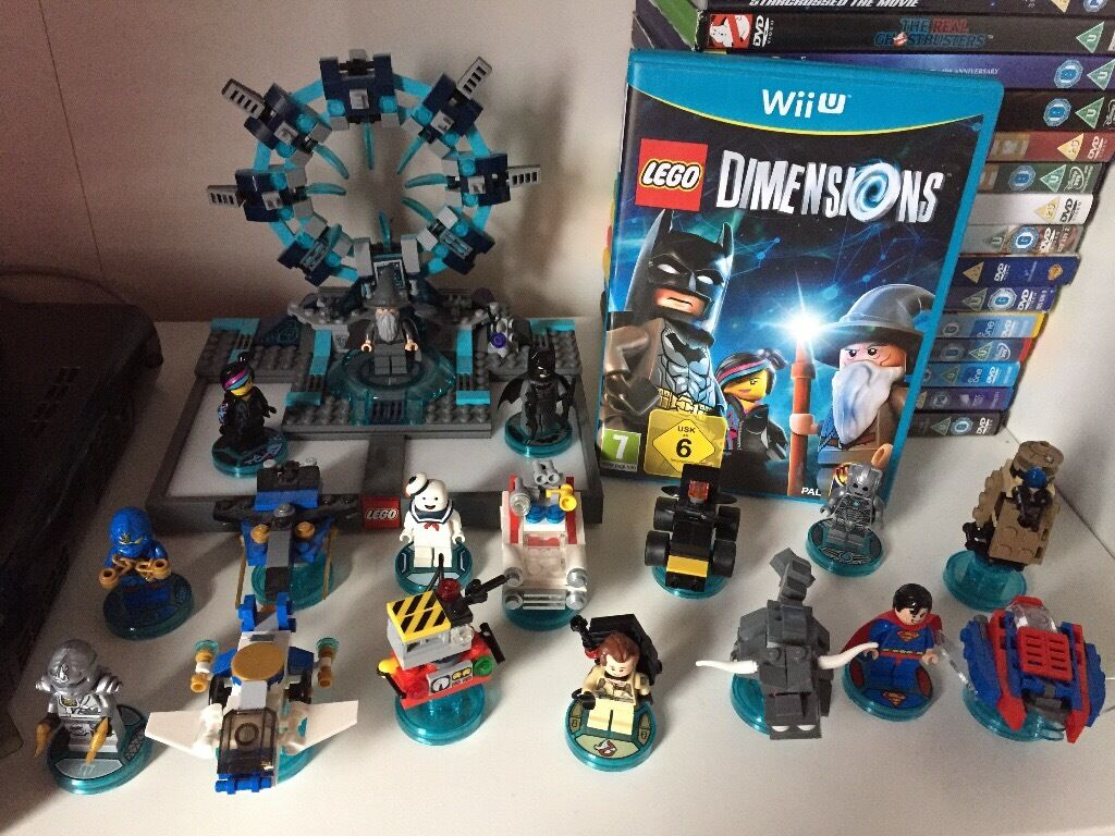 wii u lego dimensions bundle in dundee gumtree. Black Bedroom Furniture Sets. Home Design Ideas