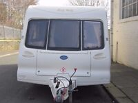 Bailey Regency Two Berth With Porch Awning
