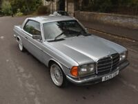 Mercedes W123 Coupe 230CE 1985 runs perfectly