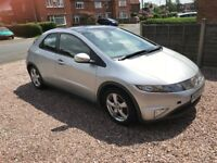 Honda Civic 2.2 ES CDTI 2008 (58 Plate) Bargain (not golf Audi A3, BMW 1 Series, Focus, 2006,2007)