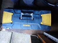 Large irwin tool box
