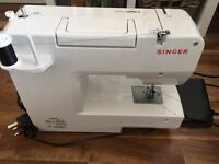 Almost new Singer sewing machine