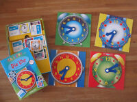 GERMAN Board Game: Read the clock - Ich lerne die Uhr