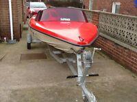 Speed boat Fletcher Arrow 14ft