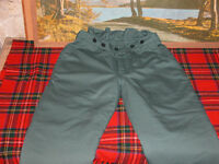 """BOXER CHAINSAW TROUSERS CLASS A, NEW- BY SIP ELASTICATED WAIST SIZE ON LABLE XL SHOULD FIT 34""""-40"""""""